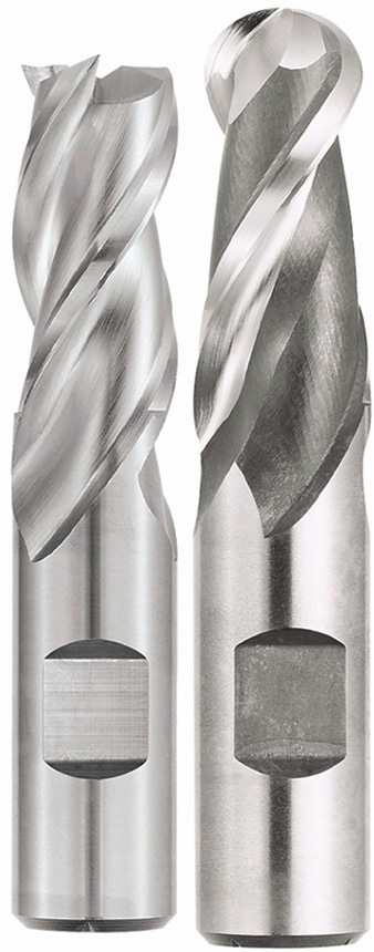 high speed steel end mills